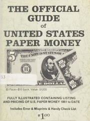 The Official Guide of United States Paper Money