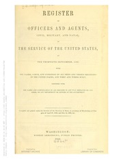 Register of all Officers and Agents ...
