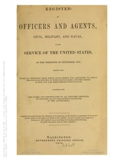 Register of Officers and Agents ...