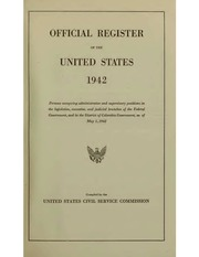 Official Register of the United States ... (1855)