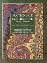 Auction Sale One Hundred: Part One