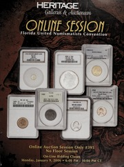 Online Session: Florida United Numismatists Convention