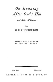 chesterton essays text
