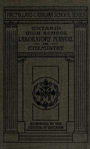 Ontario high school laboratory manual in chemistry : Free