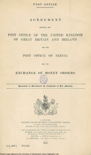 Post office communication between great britain and ireland great britain parliament house - Great britain post office ...