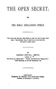 The Open Secret, Or, The Bible Explaining Itself : Hannah