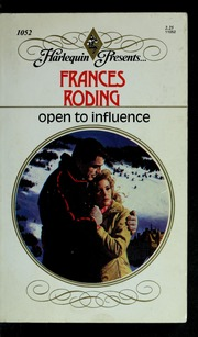 Open to influence : Roding, Frances : Free Download, Borrow, and