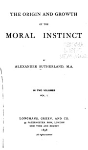 the moral instinct Wow this one was a really great read it definitely hoists my mind out of the hobbesian shroud of selfish morality it's basically an evolutionary.