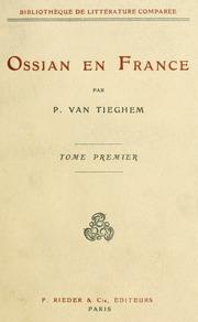 Vol 1: Ossian en France