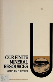 Our Finite Mineral Resources