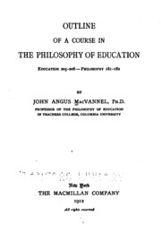 Philosophy of education papers
