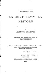 """an outline of ancient egyptian history Outline of ancient egypt  first intermediate period of egypt – this period is often described as a """"dark period"""" in ancient egyptian history,."""