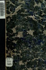Ovamboland; Versuch einer landeskundlichen Darstellung nach dem gegenwärtigen Stand unserer geographischen Kenntnis