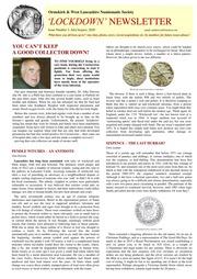 Lockdown Newsletter (#3)