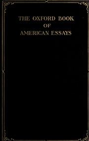 the oxford book of american essays matthews brander  the oxford book of american essays