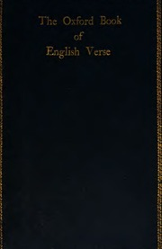 the oxford book of english verse epub