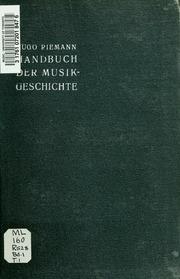 Vol 01 pt.01: Handbuch der Musikgeschichte