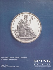 The Pablo Gerber Senior Collection of United States Coins