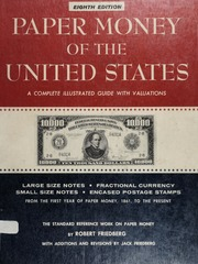 Paper Money of the United States, Eighth Edition