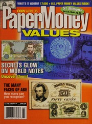 Paper Money Values [Spring 2006]