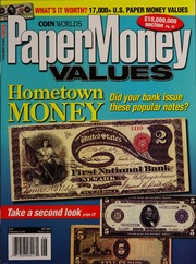 Paper Money Values [June 2008]