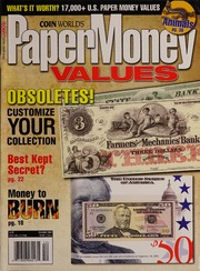 Paper Money Values [December 2008]