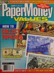 Paper Money Values [Fall 2006]