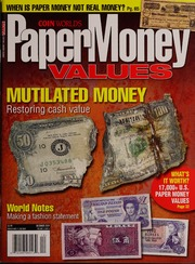 Paper Money Values [December 2009]
