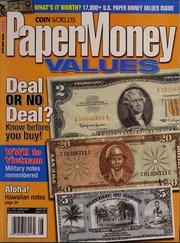 Paper Money Values [August 2007]