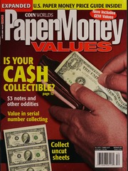 Paper Money Values [December 2007]