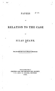 silas deane essay Write an essay and apply for $2500 in scholarship for college students each semester.