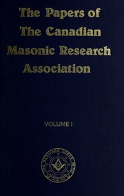 masonic research papers Travelling light ten selected papers first published by the australian and new zealand masonic research council plus an illustrated account of the formation and activities of the anzmrc: rombogif masonic research in australia and new zealand by wbro tony pope, editor of the anzmrc's publications.