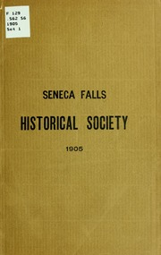 seneca falls essay Seneca falls in the early 1800's, many of the women in the united states were plain and simple getting fed up with their lack of writes men had dominated everything.