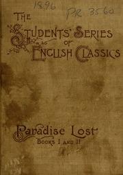 john milton 1608 1674 paradise lost