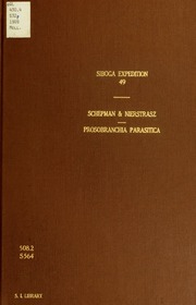 Parasitische prosobranchier der Siboga-expedition