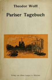 Pariser Tagebuch