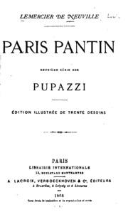 Paris Pantin : deuxième série des pupazzi