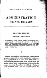 Vol 2: Paris sous Napoléon