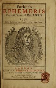 Parker's ephemeris for     1778    : Free Download, Borrow, and