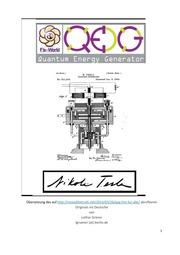Pdf bauanleitung freie energie tesla generator Magnetmotor4U