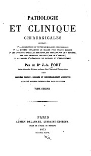Vol 2: Pathologie et clinique chirurgicales. v. 1