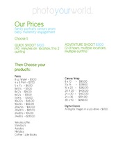 Photoyourworld Portrait Pricing 2014-2015.pdf PDFy mirror