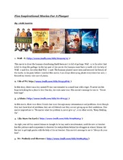 Five Inspirational Movies For A Pisayer.pdf (PDFy mirror)