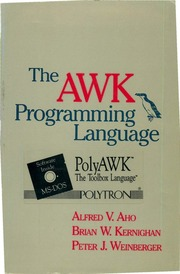 Pdfy mirrors free texts free download borrow and streaming the awk programming language malvernweather Images