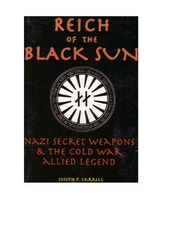 Farrell Reich Of The Black Sun Nazi Secret Weapons The Cold