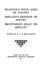 Essay on love shelley