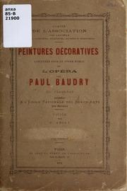 Catalogue des uvres de paul baudry guillaume eug ne for Peintures decoratives