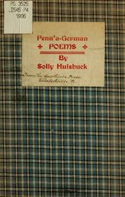 Penn-a-German poems