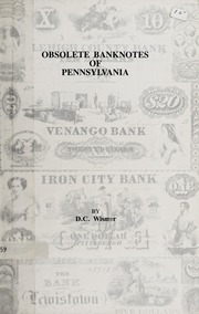 Obsolete Banknotes of Pennsylvania