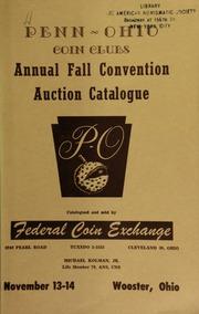 Penn Ohio coin clubs : 1954 fall convention. [11/13-14/1954]